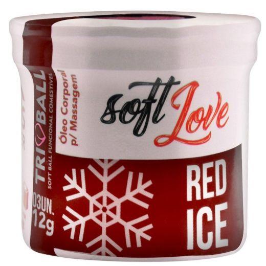 Bolinhas Funcional Triball Red Ice (Soft Love) 1