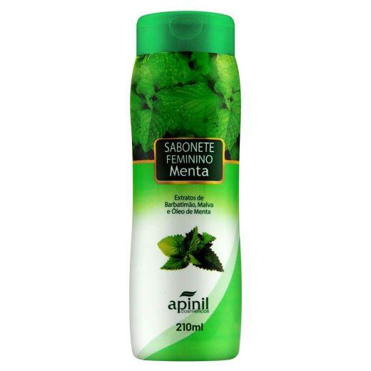 Sabonete Íntimo Feminino Aroma Menta 210ml (Apinil)