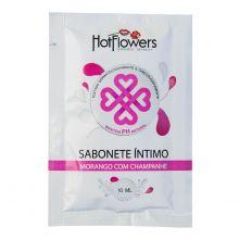 Sabonete Íntimo Morango com Champanhe Sachê 10ml (Hot Flowers)