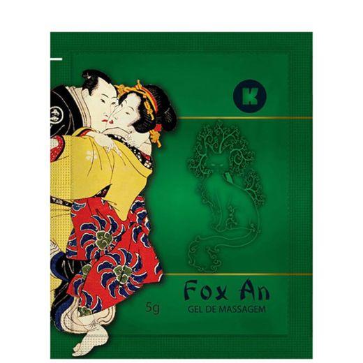 Fox An Gel ideal para Massagem Corporal Sachê 5g (K-Gel)