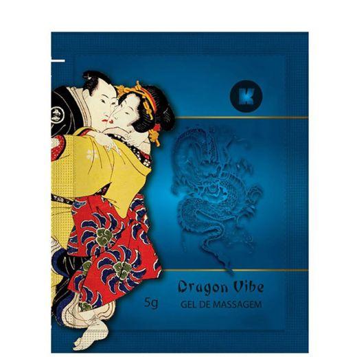 Dragon Vibe Sensação Eletrizante Gel para Massagem Corporal Sachê 5g (K-Gel)