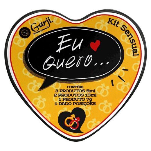 Kit Eu Quero Sensual Lésbica (Garji)