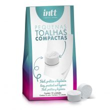 Kit Toalhas Compactas com 10un (Intt)