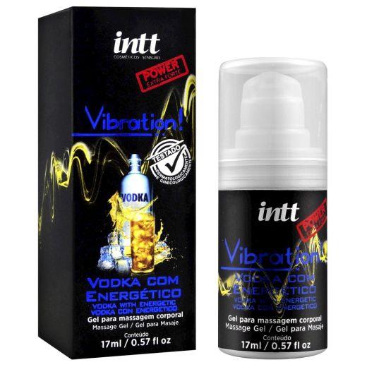 Vibrador Líquido Intt Vodka com Energético Vibration Power 1