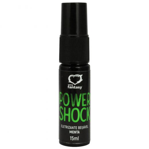 Gel para Massagem Corporal Power Shock Menta 15g 2