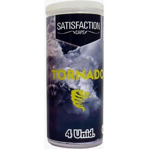 Bolinhas Eróticas Tornado 4 Unid. Satisfaction 1