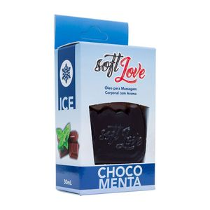 Gel Comestivel Ice 30ML Soft Love - Chocomenta 1