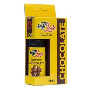 Gel Comestível Hot 15ML Soft Love - Chocolate 1