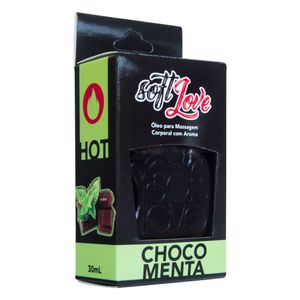 Gel Comestível Hot 30ML Soft Love - Chocomenta 1