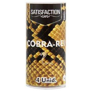Bolinha Cobra Rei Excitante 04 Unidades Satisfaction 1