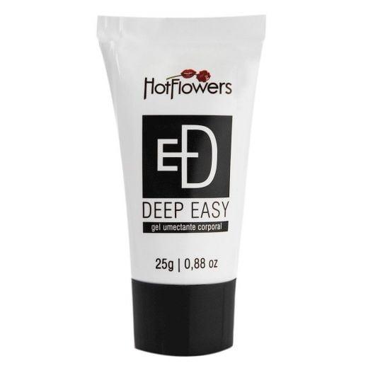 Deep Easy Anestésico Bisnaga Preta 25G Hot Flowers 1