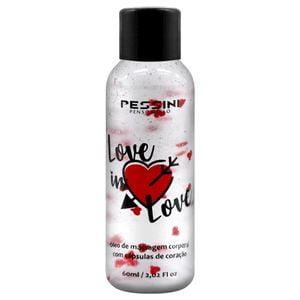 Love In Love Óleo de Massagem com Cápsulas de Coração 60ml Pessini 1