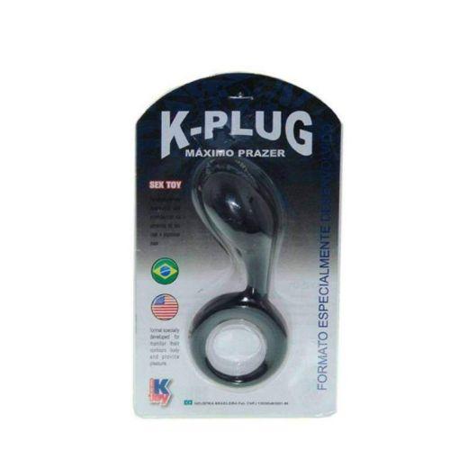 Plug Massageador e Estimulador Anal K-Plug 1